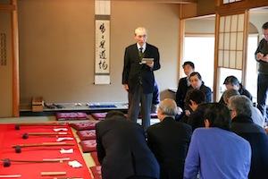 元文化庁文化財審議委員 廣井雄一先生の講演