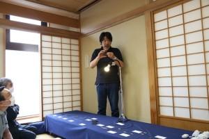 泉公士郎氏による刀装具の解説